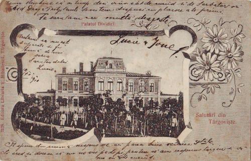 Targoviste - Palatul Dividici - 1910