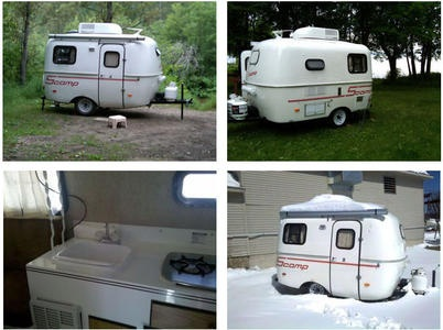 342 best 03 RV trailers images on Pinterest Vintage campers