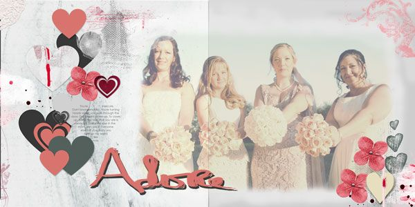 Adore - My beautiful daughter and her bridesmaids and maid of honour on her wedding day.
