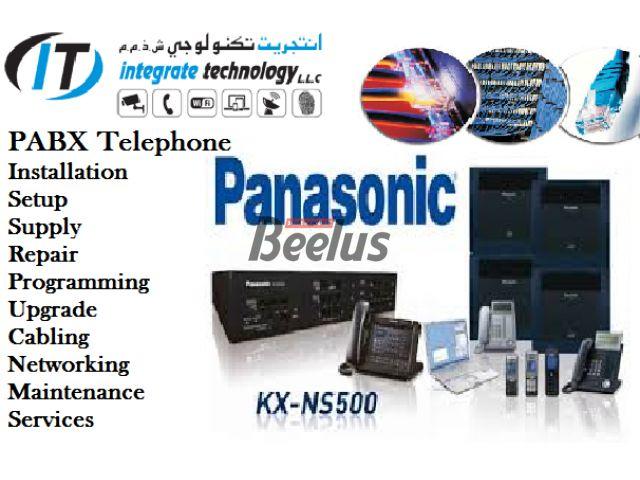 DUBAI 0556789741 PABX PBX Technician Installation REPAIR Repairing - Maintenance & Programming in Dubai – NEC TOPAZ, NITSUKO, PANASONIC, DU, Etisalat - 0556789741 DUBAI PABX PBX WIFI ROUTER CCTV Technician Installation REPAIR Repairing - Maintenance & Programming in Dubai – NEC ,TOPAZ, NITSUKO, PANASONIC, MOCET, AVAYA,ASTERISK, GRANDSTREAM, DIGIUM, RTX, YEASTAR,CISCO,YEALINK, DU, Etisalat PABX Systems STRUCTURED NETWORKING CABLING PABX INSTALLATION DATA-VOICE ACCESS CONTROL TIME ATTEN...