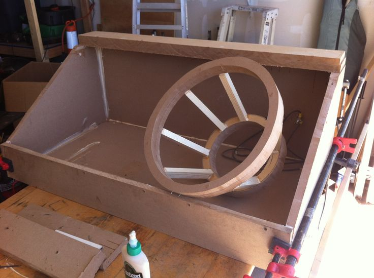 Fiberglass Speaker Box
