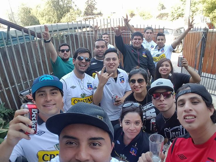 Celebración Colo Colo - Univ de Chile 2015
