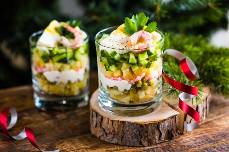 Праздничные салаты: 10 традиционных и современных вариантов. Клуб кулинаров.