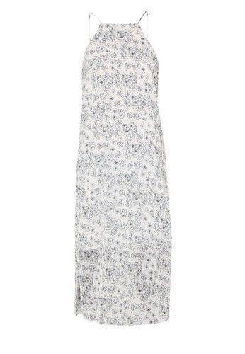 - Midi dress- Poliester- Warna putih- Desain kamisol- Kerah halterbr>- Tanpa lengan- Detail floral print- Relaxed fit- LinedUkuran pakaian normal, pilih sesuai ukuran Anda biasanya