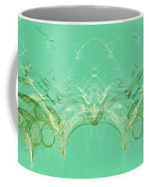 Patterns In Tropical Leaf By Irina Safonova Coffee Mug featuring the digital art Patterns In Tropical Leaf by Irina Safonova#IrinaSafonovaFineArtPhotography #food #Rustic #ArtForHome#CoffeeMug