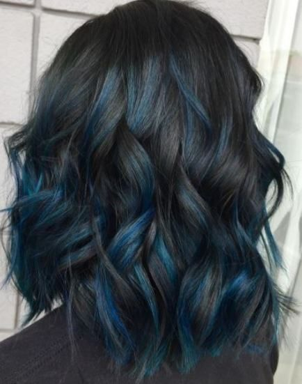 Hair Color Ideas For Brunettes Short Ombre Dip Dye 42 Ideas