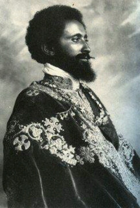 """""""His Imperial Majesty Haile Selassie I, King of Kings, Lord of Lords, Conquering Lion of the Tribe of Judah, Elect of God"""""""