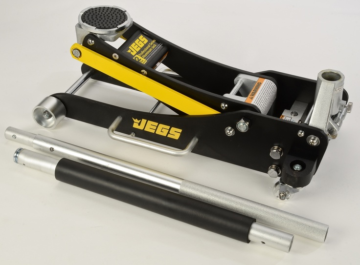 JEGS Professional LowProfile 2Ton Aluminum Floor Jack