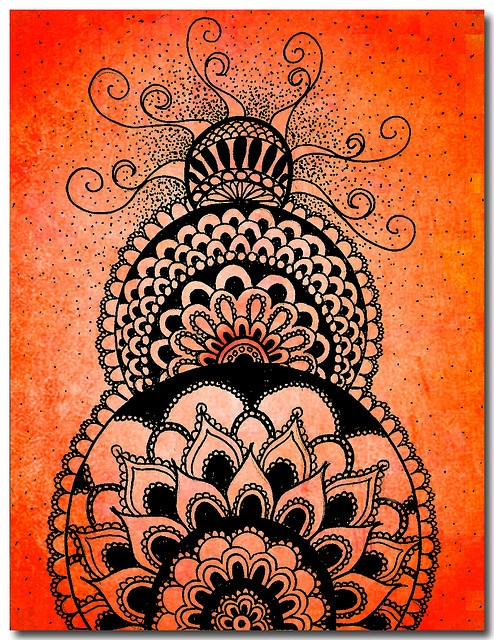 By emaho ~ Jamie Price  Oh my that would be great for a tattoo, maybe in henna colour
