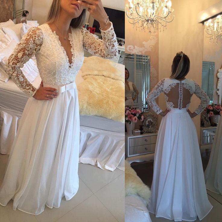 Vestido de Noiva - Barbara Melo