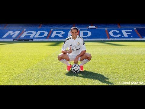 Sergio Ramos Chicharito Hernández pisó por primera vez el césped del Bernabéu como jugador blanco