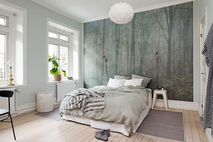 "Wallpaper ""Skog"" by Sandbergs"