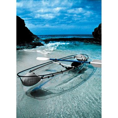 i wantIdeas, Buckets Lists, Awesome, The Ocean, Boats, Hammacher Schlemmer, Places, Transparent Canoes, Transparent Kayaks