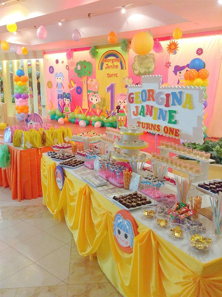 Dessert And Stage Set Up Decor Birthday Parties KidsLalaloopsy