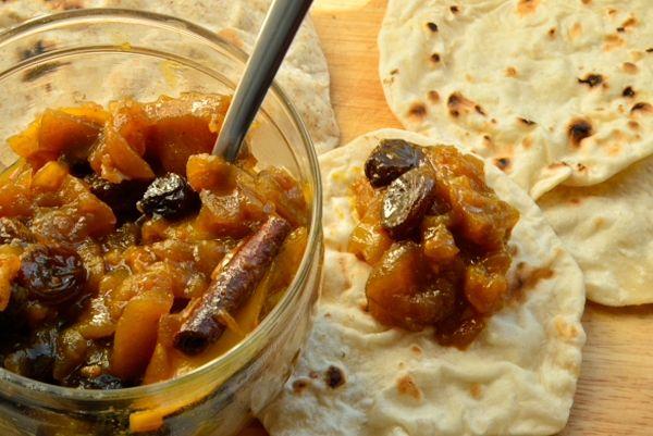 Чатни (фруктово-офощная смесь, закуска) из яблока