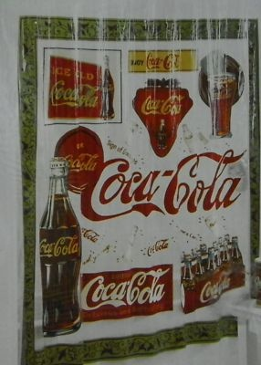 Curtains Ideas coca cola shower curtain : 1000+ images about 2 (COKE) BATHROOM & SHOWER CURTAINS on ...