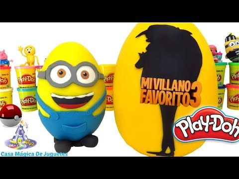 Huevo Sorpresa Gigante de Steven Universe de Plastilina Play Doh en Español Llenísimo de Sorpresas - YouTube