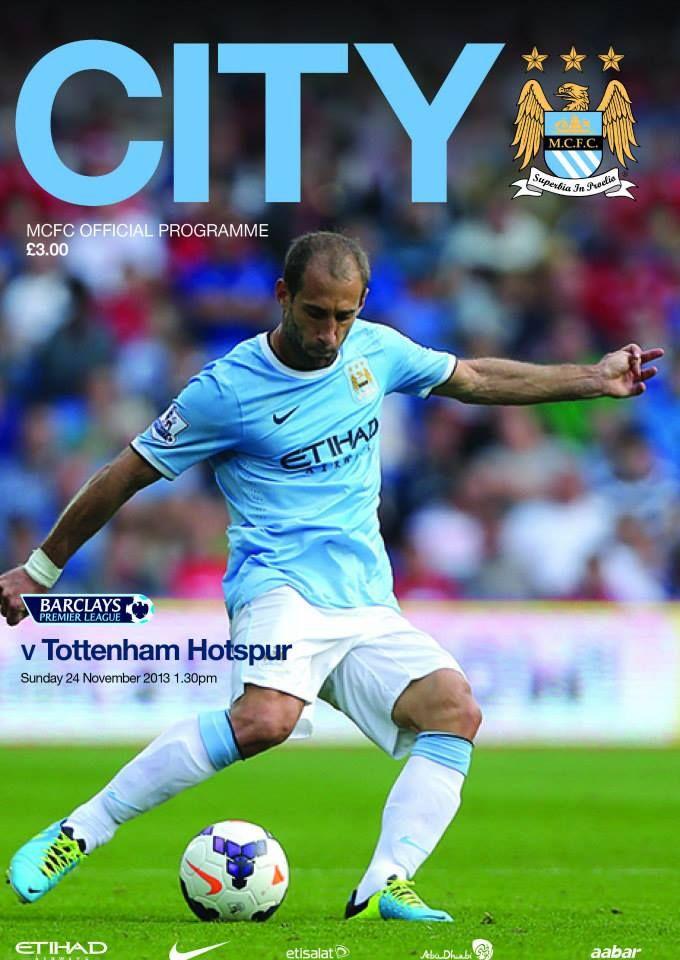 City v Spurs cover