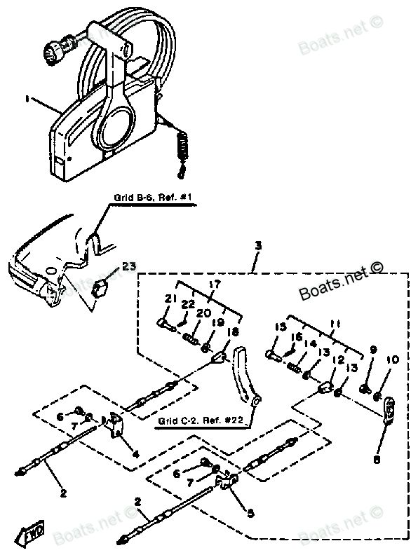 1985 Yamaha 30ELK Outboard service repair maintenance