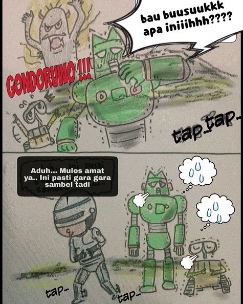 Sorry #komik #komikindonesia #cerita #gambar #sketsa #konyol #lol #humor #laminatingrum #strips #komikstrip #seni #art #arsiran  #inktober #ink #inktober2015 #peeping #cat  #cartoon #karya #karyaseni #karyakomi #minggurandom #komikinajah #robocop #kantam#karikatur #walle