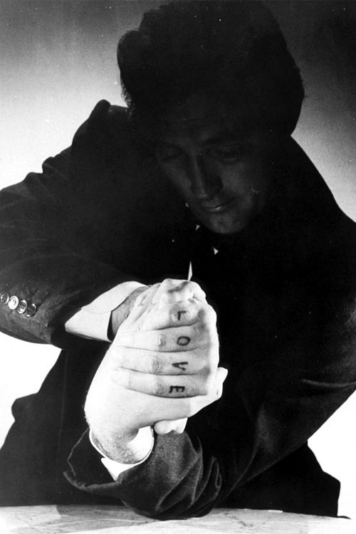 The Night of the Hunter (1955) by Charles Laughton with Robert Mitchum, Shelley Winters, Lillian Gish, James Gleason...