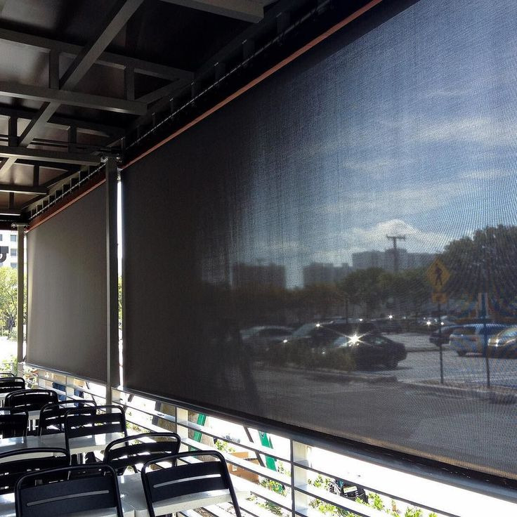 Final look at the Outside Screen Shades for this restaurant in Aventura. Time to eat anyone? #myblindstoday #condoliving #blindsshadesandshutters #myblindstoday #windowtreatment #luxuryliving #miami #sunnyisles #sunnyislesbeach #homedecor #homedecormiami #interiordesign #luxury #miamiliving #balharbor #hallandalebeach #miamibest #southbeach #home #miamicondos #aventura #aventuramagazine by myblindstoday
