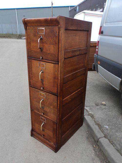 Antique filins cabinet · Wooden File ... - 23 Best File Cabinet Images On Pinterest Cabinet Drawers, Filing