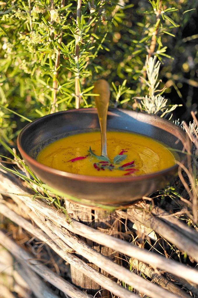 Тыквенный суп с яблоками от Арналя ПОСТ