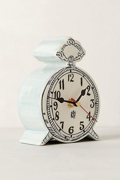 You're going to be mine Tick-Tock Clock #anthropologie