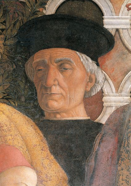 Andrea Mantegna - Decoration of the Camera degli Sposi (detail), 1465 - 1474 Palazzo Ducale, Mantua