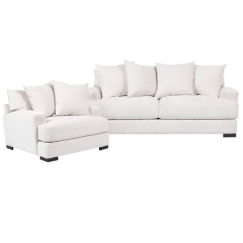 Most Comfortable Couch EVER!! Buying ASAP. Chic Combo   Stella Sofa U0026 Chair