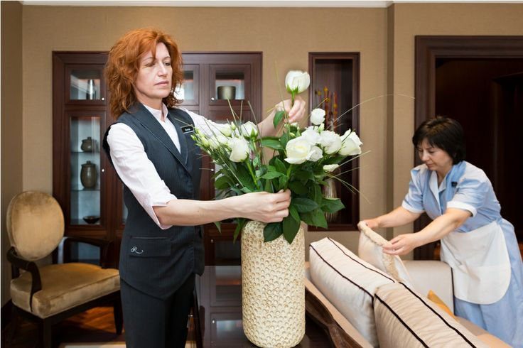 #CraftzmenshipOfCare @Corinthia Hotel Budapest. House maids preparing the Presidential Suite  #BudapestHotel