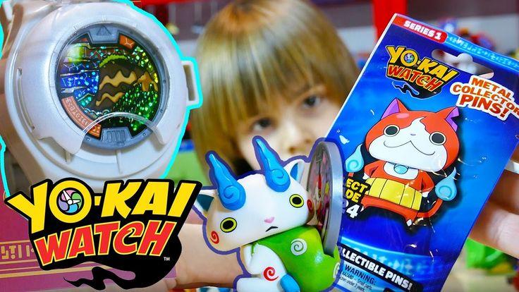Yo Kai Watch Toys - Yo Kai Watch, Medals, Jimbanyan Toy - Kid Toys Are Fun