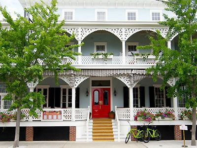 The Virginia Hotel and Cottages Cape May Weddings New Jersey Shore Wedding Venues 08204