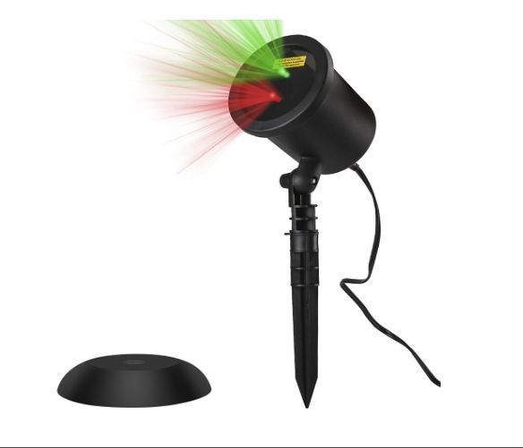 Outdoor Laser Projector Star Shower Christmas Halloween Decoration Led Lights  #Unbranded