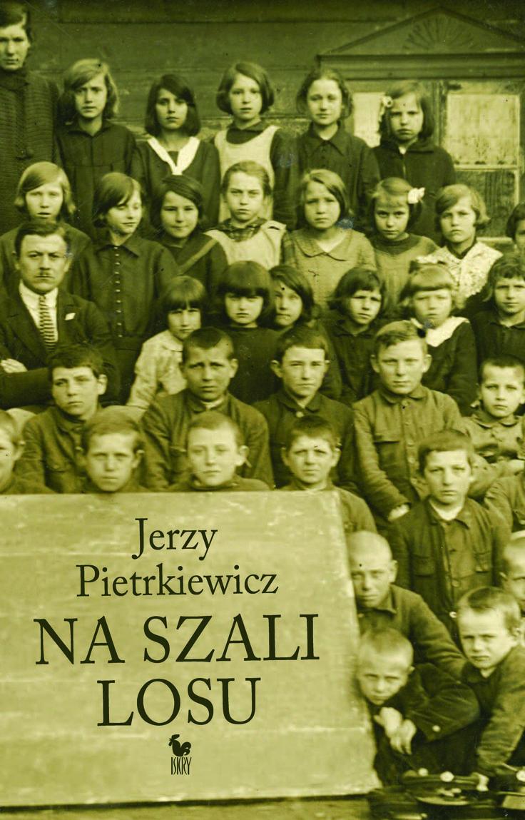 """""""Na szali Losu. Autobiografia"""" Jerzy Pietrkiewicz Cover by Andrzej Barecki Published by Wydawnictwo Iskry 2016"""