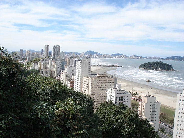 Sao Vicente and Santos, SP - Brazil