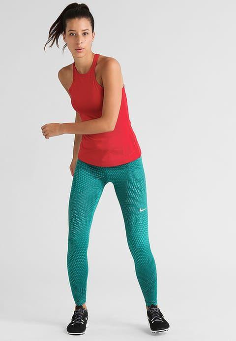 Nike Performance CIRCLEDROME - Legginsy - rio teal/midnight turquoise/black/white  za 169 zł (21.01.17) zamów bezpłatnie na Zalando.pl.