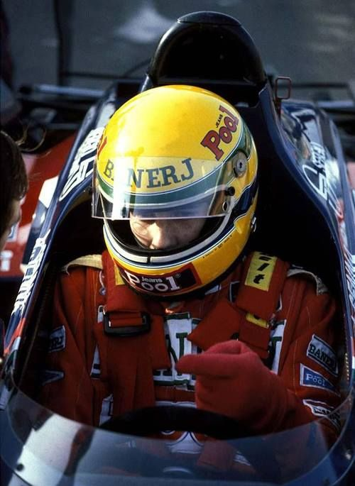 ☼ #F1 1983 - Test (Silverstone) - Toleman - Ayrton Senna