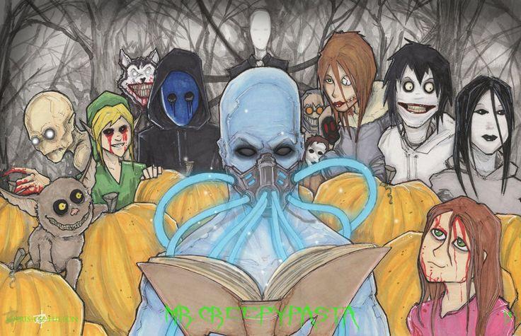 Mr. Creepy Pasta 13 Days of Halloween by ChrisOzFulton.deviantart.com on @deviantART