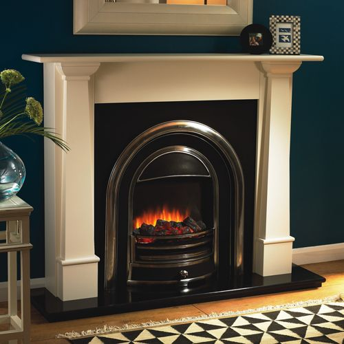Flamerite Bronte-Tennyson Electric Fireplace Suite - Radiant Coals