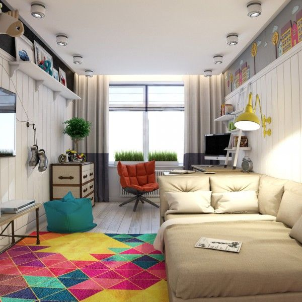 Funky Rooms That Creative Teens Would Love · Colorful Bedroom DesignsTeen  ...