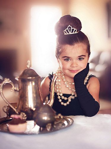 Your never too young for pearls or tea..