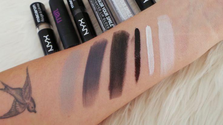 Shaaanxo: NYX Macaron Lipstick Swatches & Comparisons