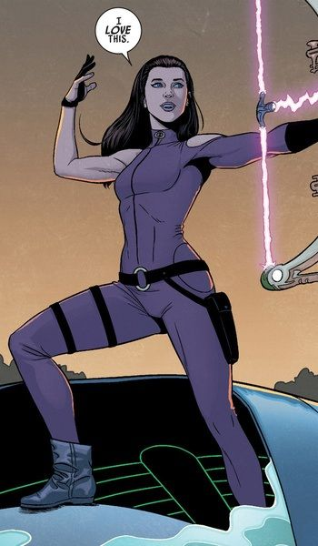 Kate Bishop - Young Avengers costume