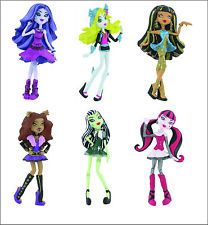 Official Bullyland Comansi Monster High Figures Toy Cake Topper Toppers