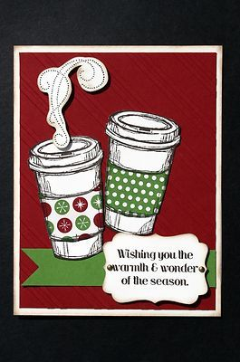 """Card Kit- Warmth & Wonder """"Perfect Blend"""" Christmas Holiday w/ Stampin Up prods"""