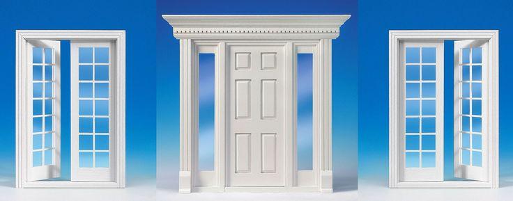 Treten Sie ein! Vielfalt kennt bei MINI MUNDUS keine Grenzen und bedenken Sie: die Tür ist das Aushängeschild ihres Hauses! Alle Türen bestehen aus Naturholz und werden fertig montiert geliefert, viele davon sind bereits weiß lackiert und müssen nicht mehr nachbehandelt werden. Die Scheiben sind aus echtem Glas. So sind sie kratzfest wie ihre großen Vorbilder und gut zu reinigen. Alle Türen werden komplett mit einer Innenverkleidung für den Türrahmen geliefert.