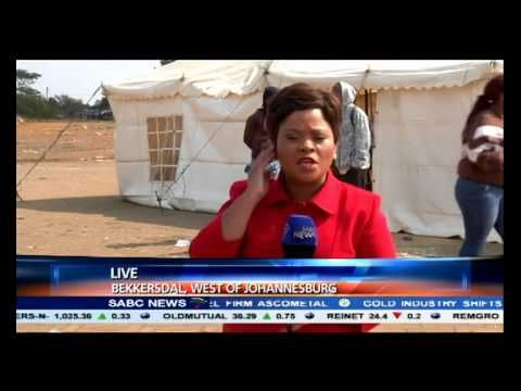 Over the past few months, another area that's been cause for concern, Bekkersdal in Gauteng...With it's service delivery protests at times spiralling out of control, this area has highlighted some of the issues plaguing communities. On the eve of elections, we take a look at that 'hotspot'. Chriselda Lewis is in Bekkersdal