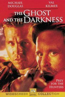 The Ghost and the Darkness (1996) Set in 1898, this movie is based on the true story of two lions in Africa that killed 130 people over a nine month period, while a bridge engineer and an experienced old hunter tried to kill them.